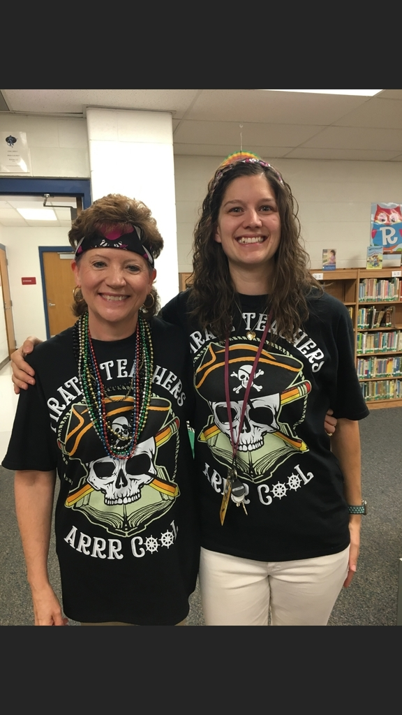 "Fourth Grade mateys arrrr ready for some ""Talk Like a Pirate"" Day fun and activities 😎👍😊"
