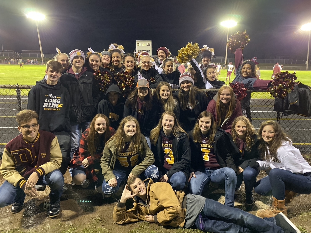 Eagle Football Fans supporting their team on the road