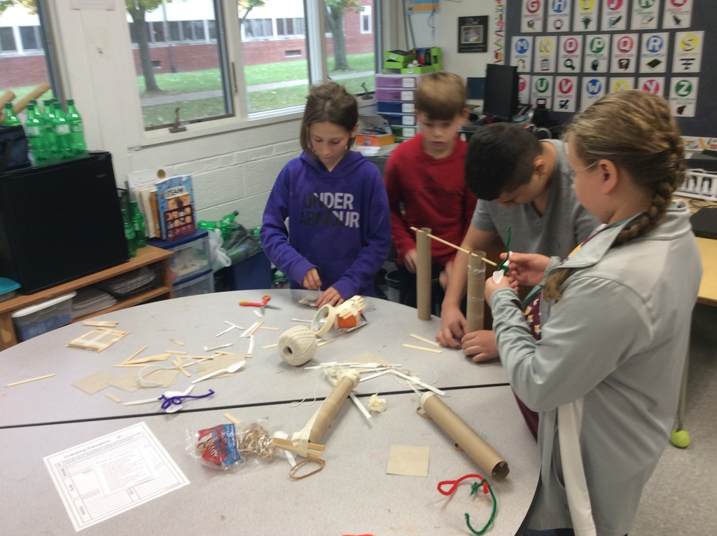 building a pumpkin elevator in STEM